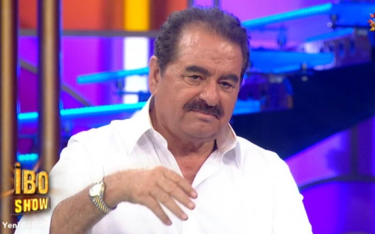 İbrahim Tatlıses 'Gelmesin' şarkısını İbo Show'da söyledi