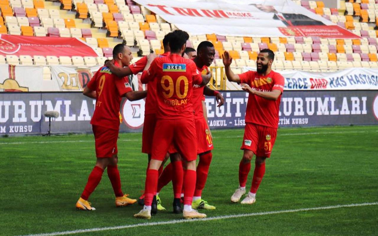 Alanyaspor'u mağlup eden Malatyaspor 13 maç sonra kazandı