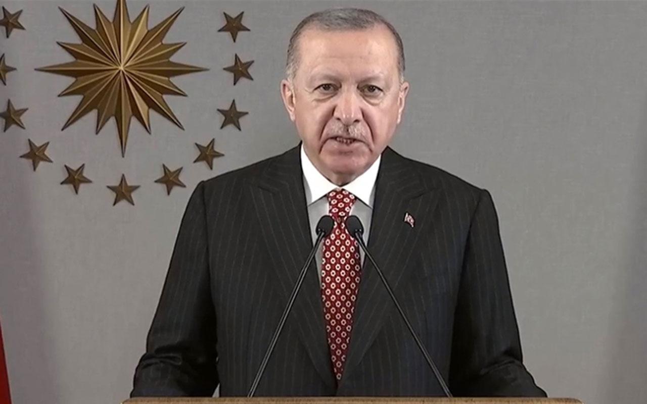 Cumhurbaşkanı Erdoğan: Koronavirüsle mücadelede Türkiye dünyada örnek gösteriliyor