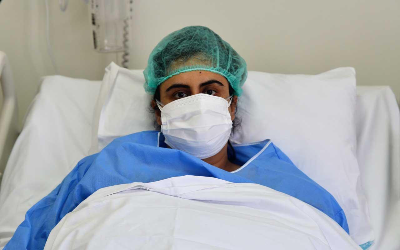Ankara'da koronavirüsü yenen kadının yoğun bakımdan çıkarken ilk sözü bu oldu
