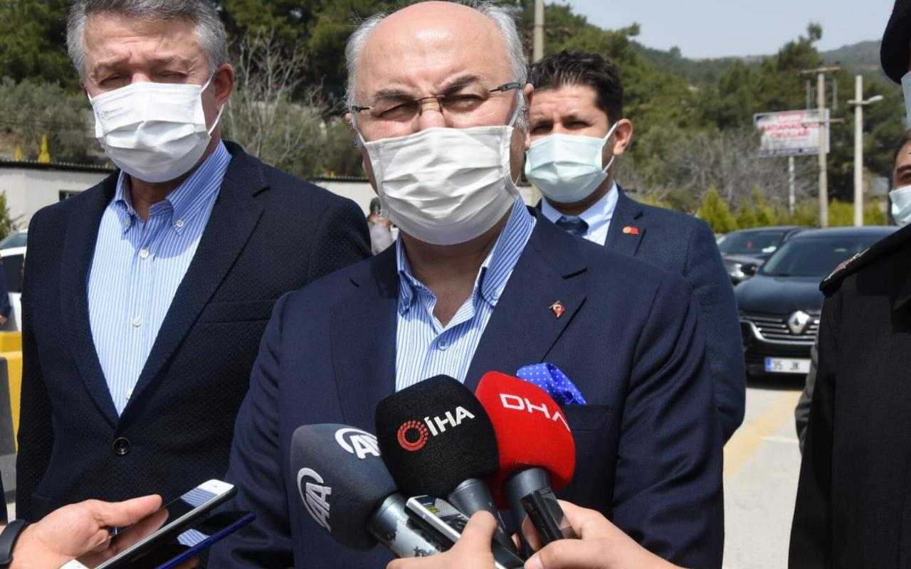 Vali Yavuz Selim Köşger: İzmir'de vaka sayılarında düşüş yok