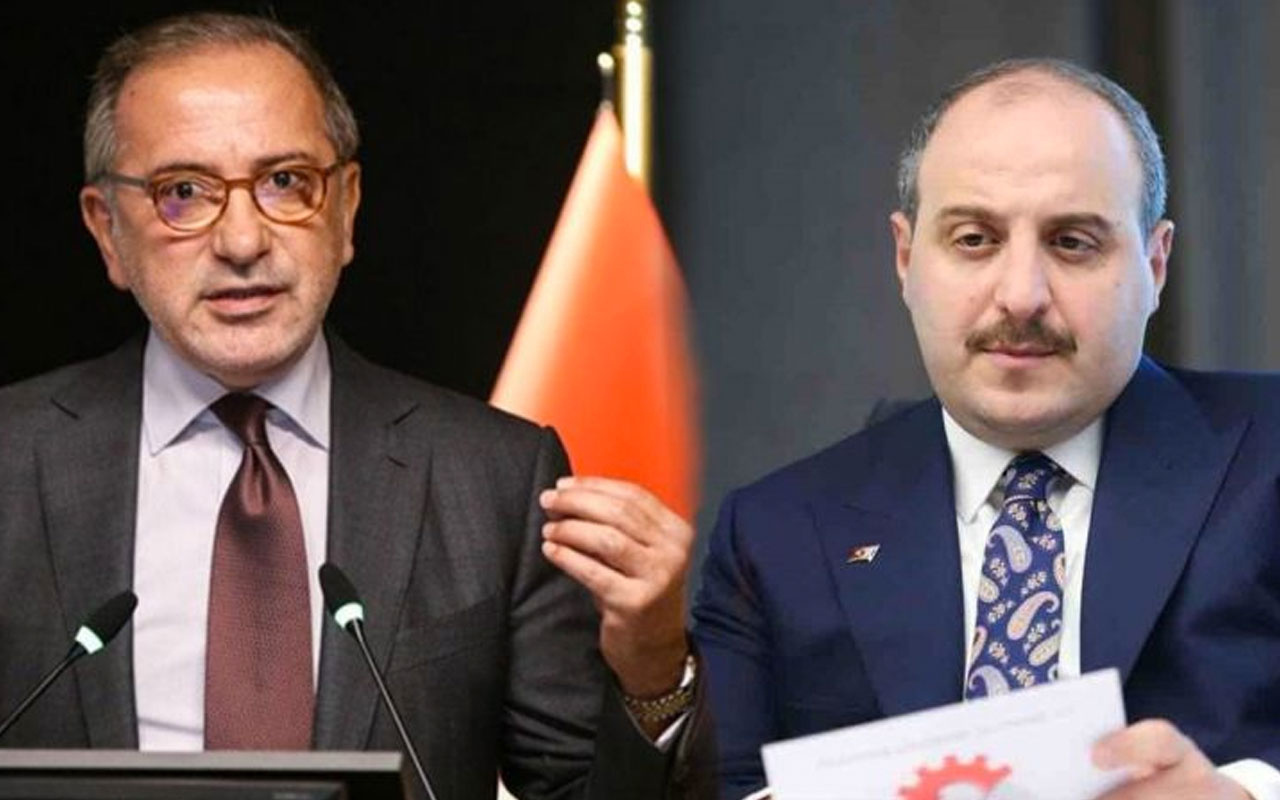 Bakan Mustafa Varank'tan Fatih Altaylı'ya olay aşı yanıtı! Bu çok bilmişe...