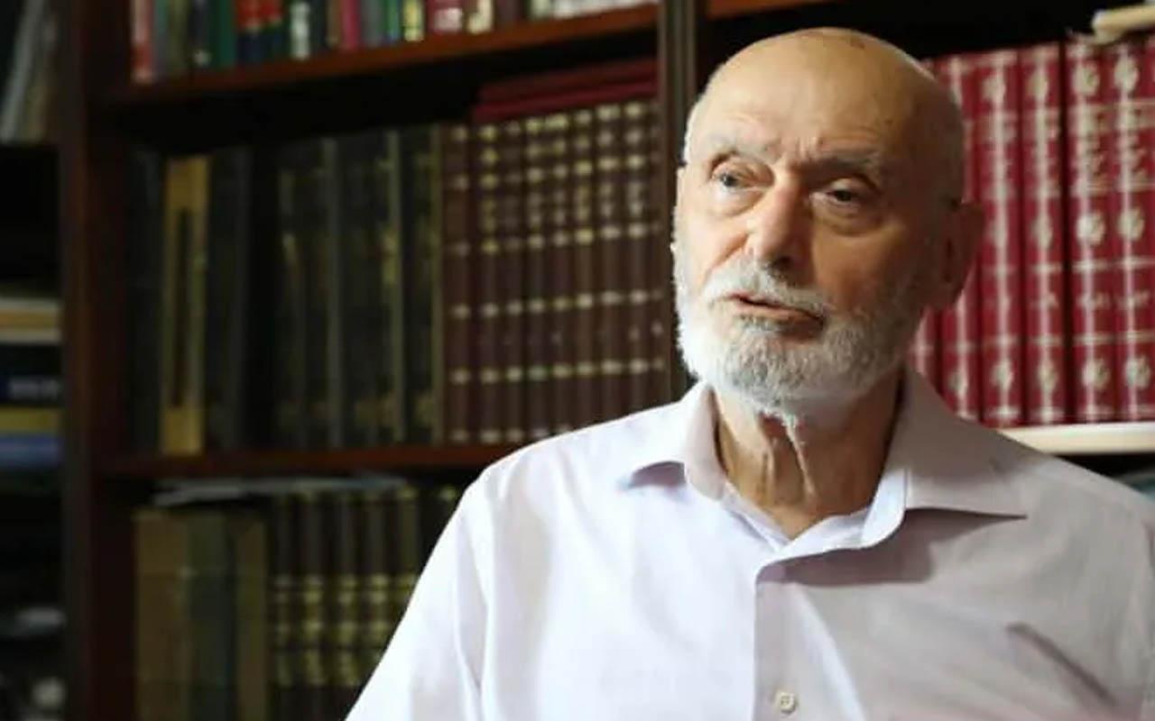 Prof. Dr. Ali Özek Hoca 89 yaşında ebediyete intikal etti