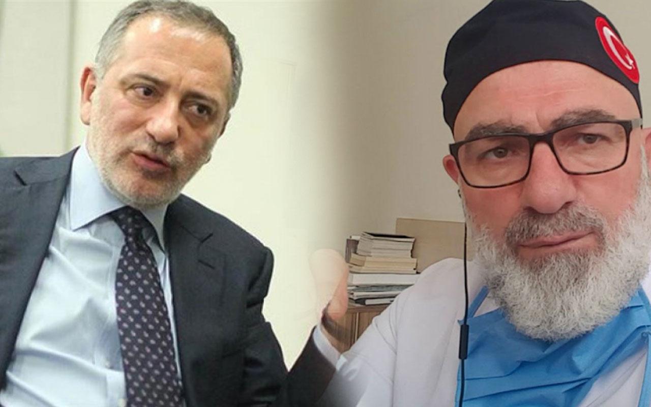 Fatih Altyalı'dan Ali Edizer tepkisi! Bunu Tıp Fakültesi'nden mezun edenlere kızıyorum