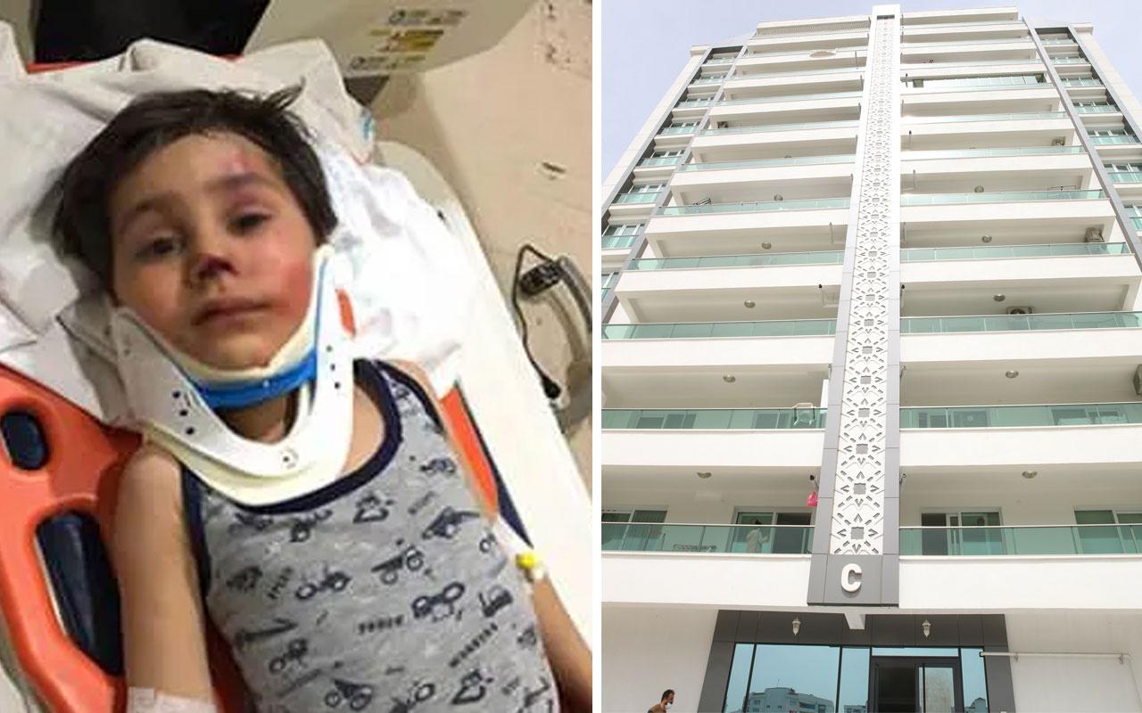 Asansör 11'inci kattan düştü: Mucize kurtuluş