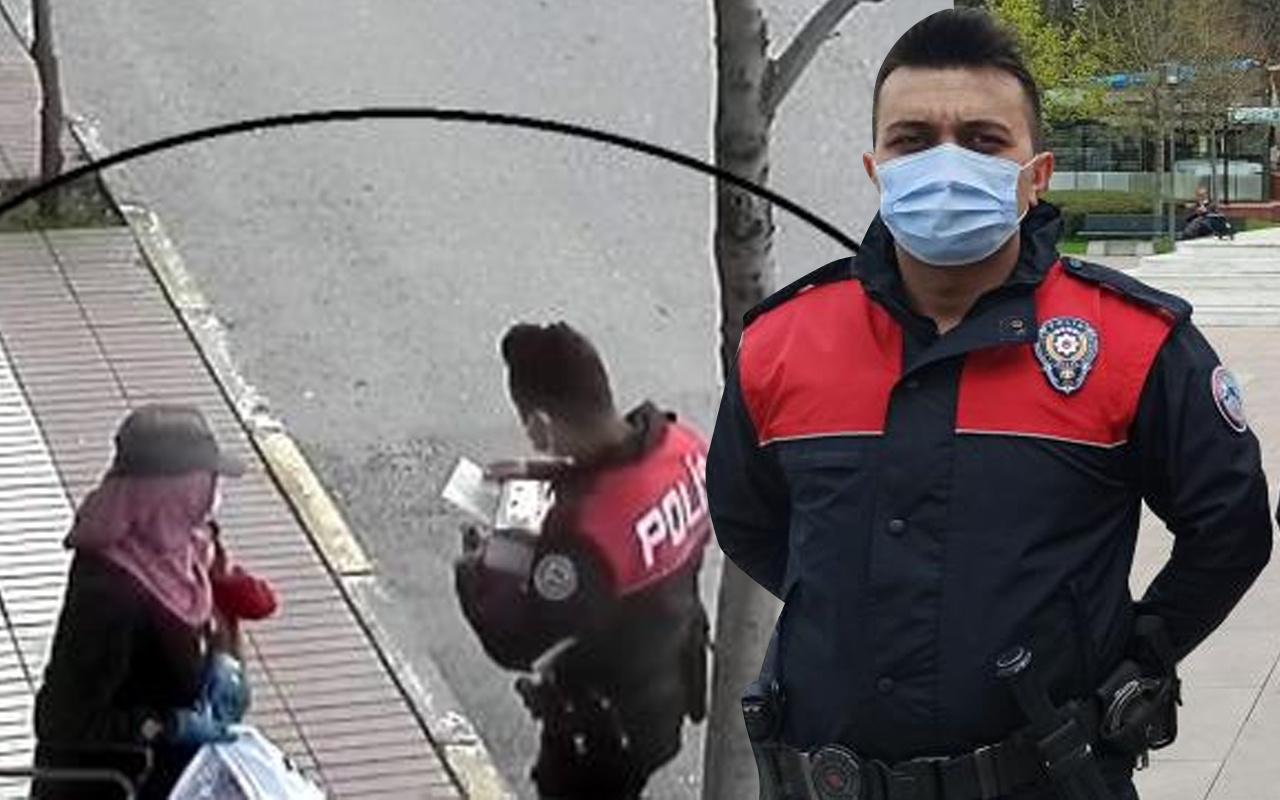 Çorum'da polisler gönülleri fethetti: Yüzündeki mutluluk görülmeye değer