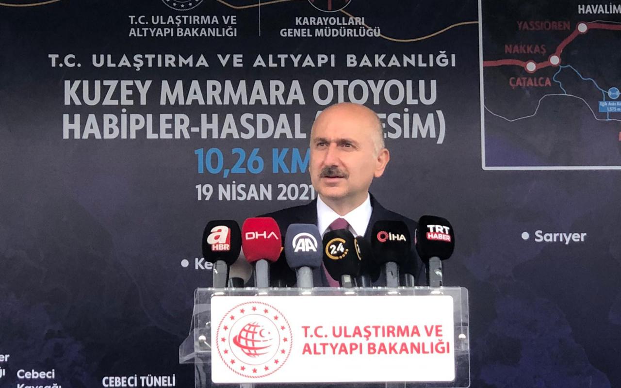 Adil Karaismailoğlu'ndan Kanal İstanbul ile ilgili açıklama