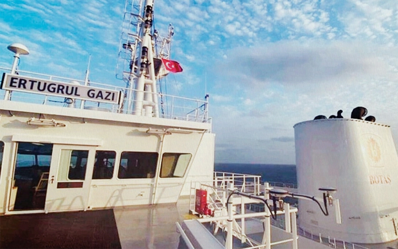 Türkiye'nin ilk FSRU'su Ertuğrul Gazi'nin Hatay'a ulaşması bekleniyor