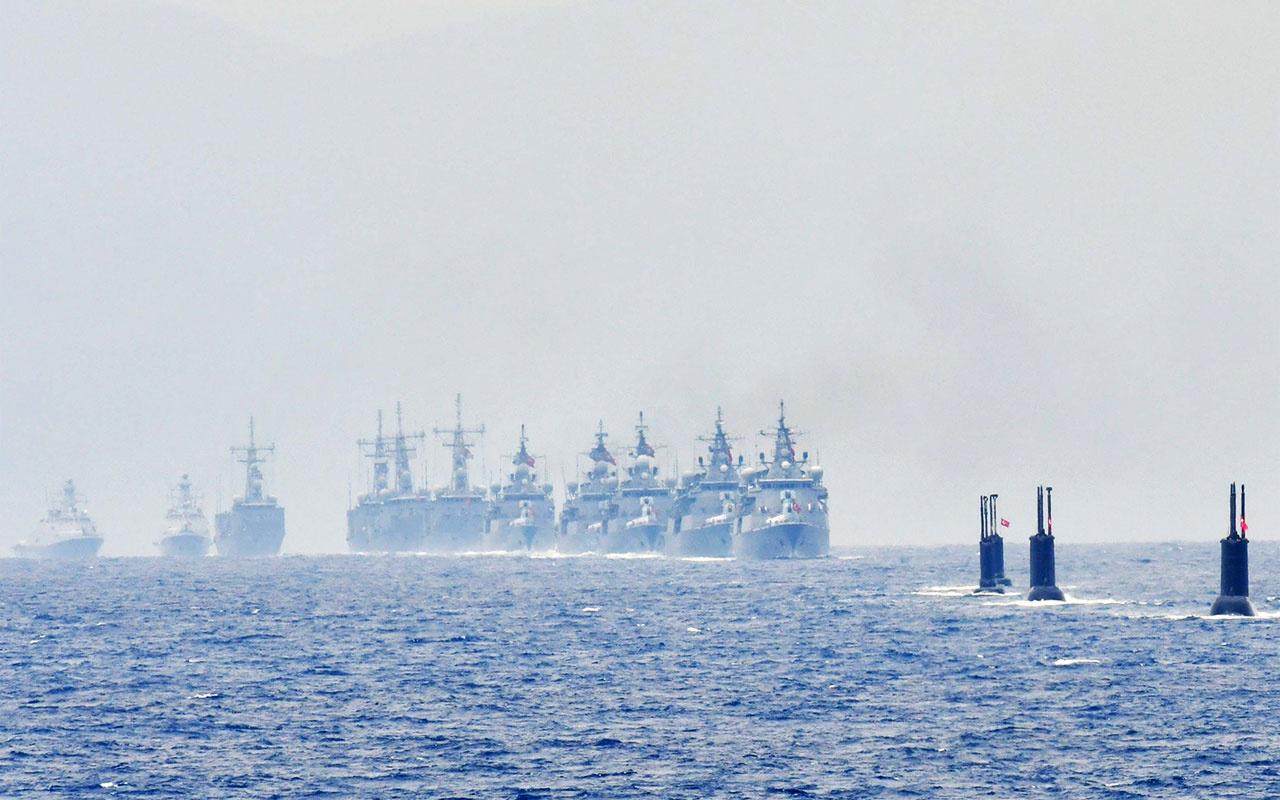 Doğu Akdeniz'de Yunanistan ve Fransa'dan yeni provokasyon Türk firkateyni böyle kovdu