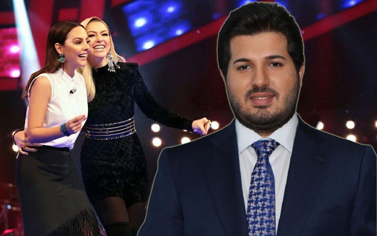 Ebru Gündeş'in eşi Reza Zarrab'la aşk iddiasını inkar etti Hadise'ye destek yağdı