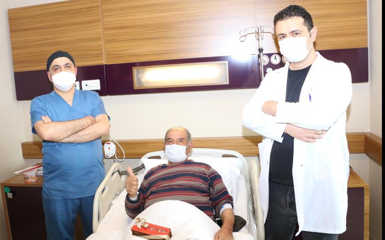 Gaziantep'te karın ağrısıyla hastaneye gitti! Doktorlar şaşkına döndü: Niye daha önce gelmediniz?
