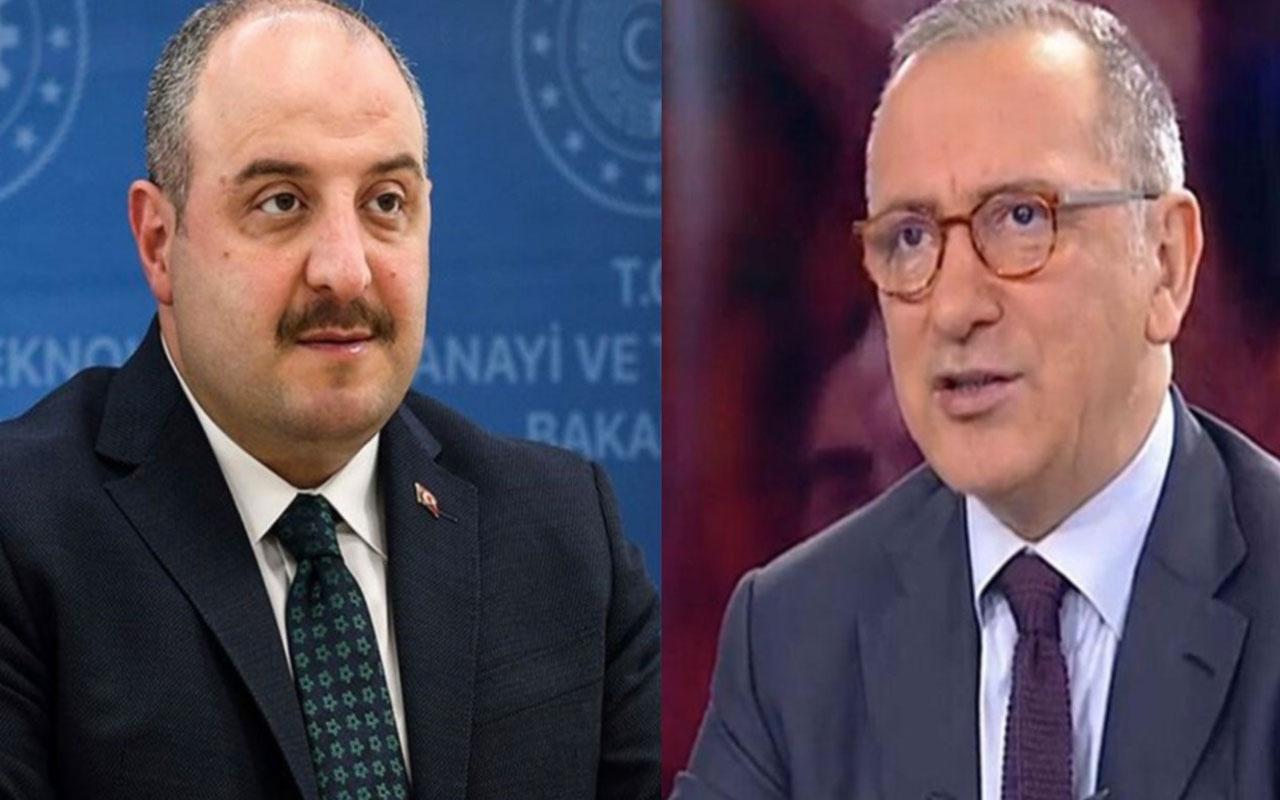 Fatih Altaylı'dan Bakan Mustafa Varank'a yanıt geldi: Müthiş ötesi bir öngörü