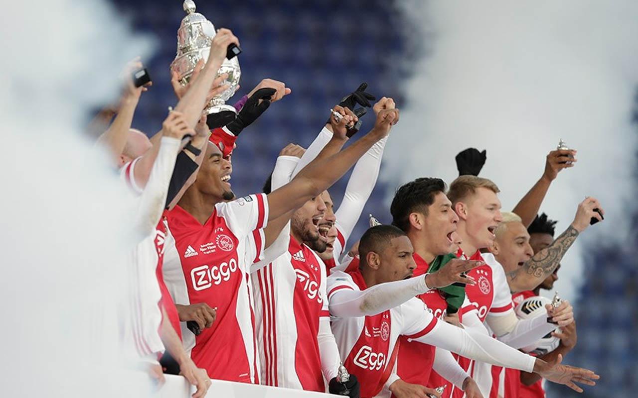 Hollanda Kupası'nın sahibi Ajax oldu