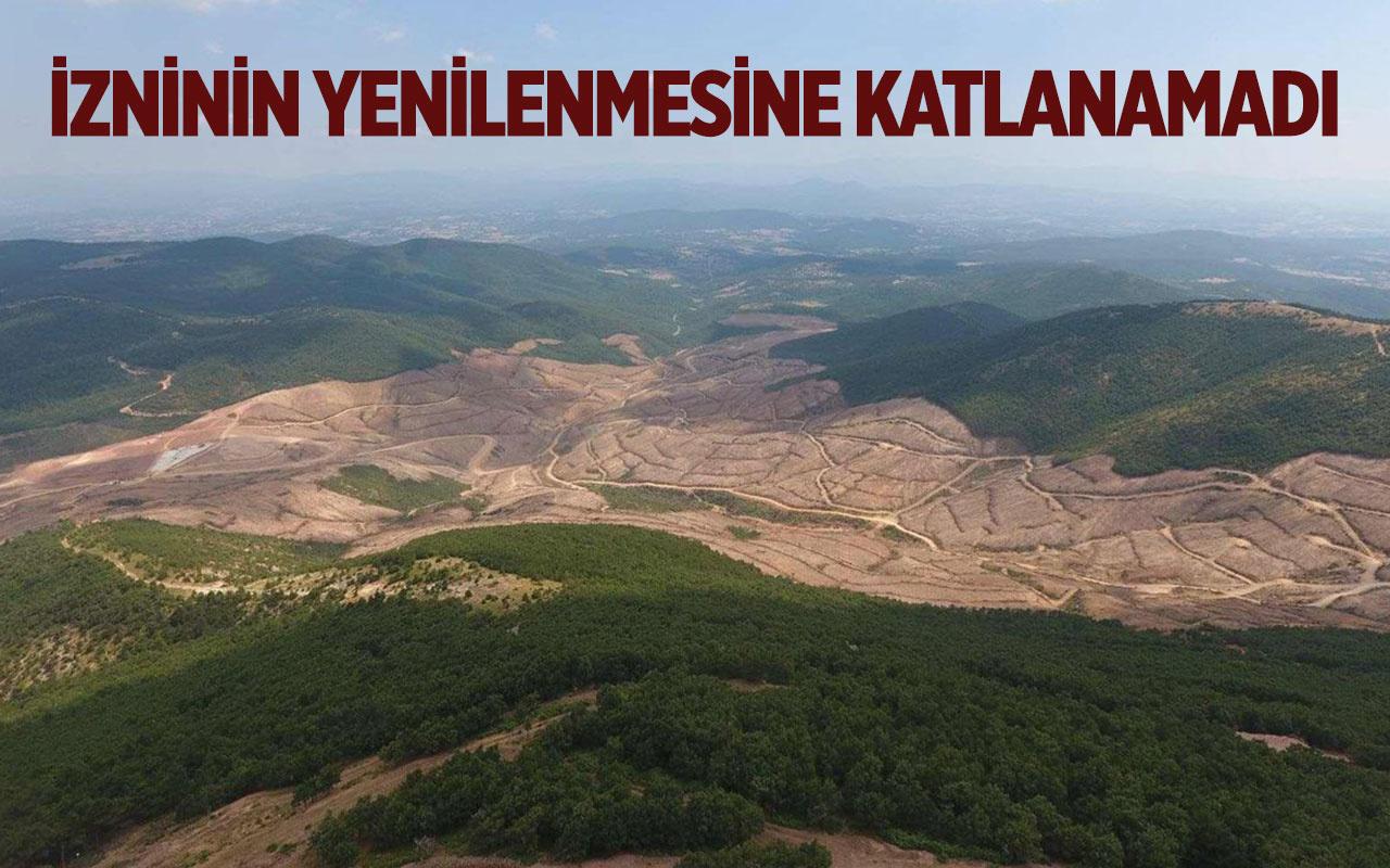 Kaz Dağları'nı katleden Kanadalı şirket Türkiye'den 1 milyar dolar tazminat istedi