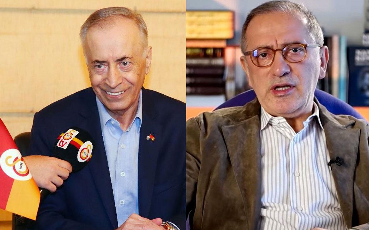 Fatih Altaylı'dan Mustafa Cengiz'in seks partisi sözlerine tepki: Sanane grup mu yapıyor, tek mi yapıyor