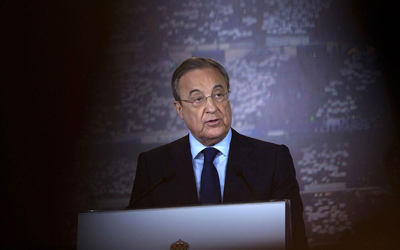 Florentino Perez: Geri dönüş yok, kimse ayrılmayacak
