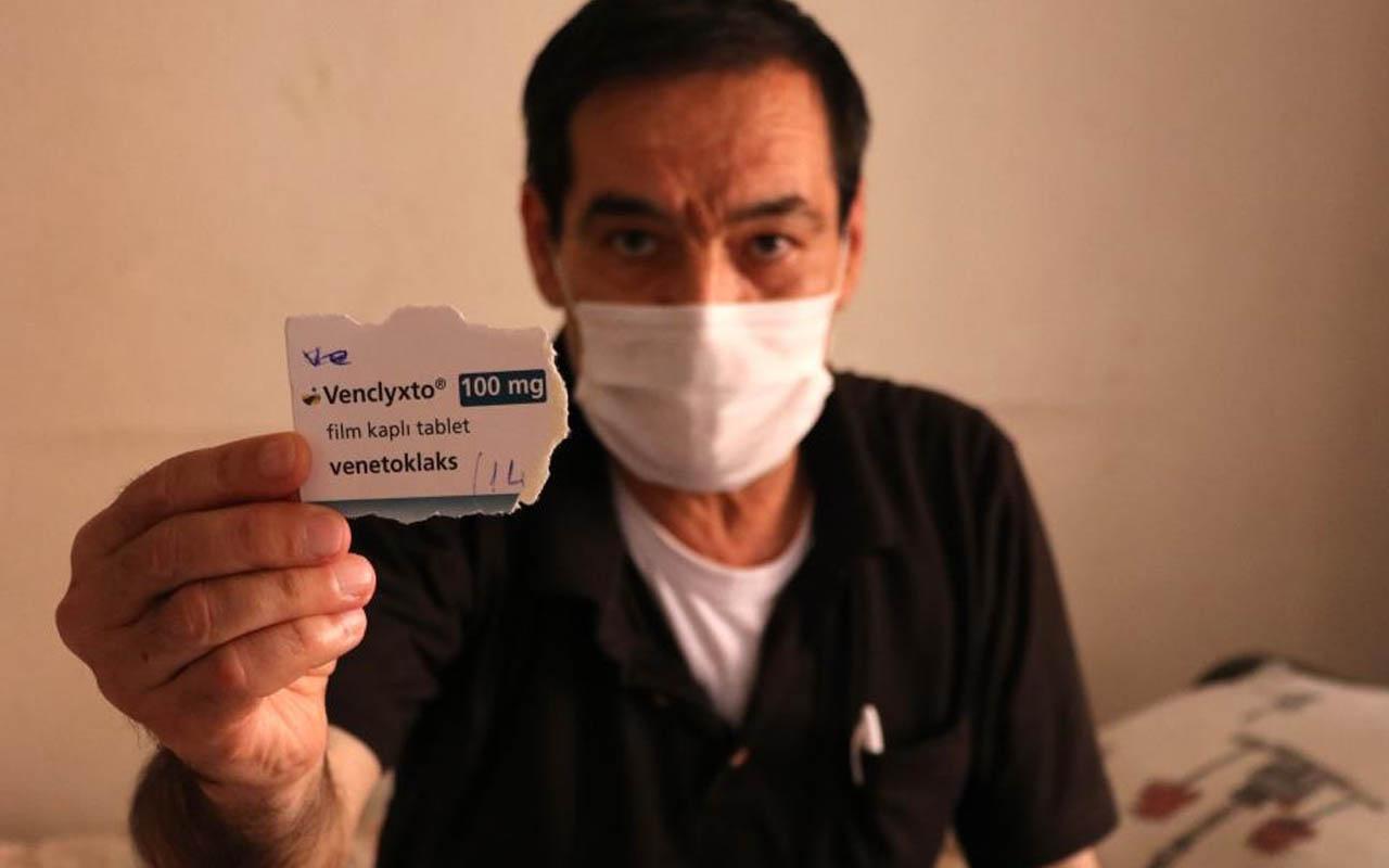Adana'da kanser hastasının ilacı 2 aydır başkalarına satılıyor