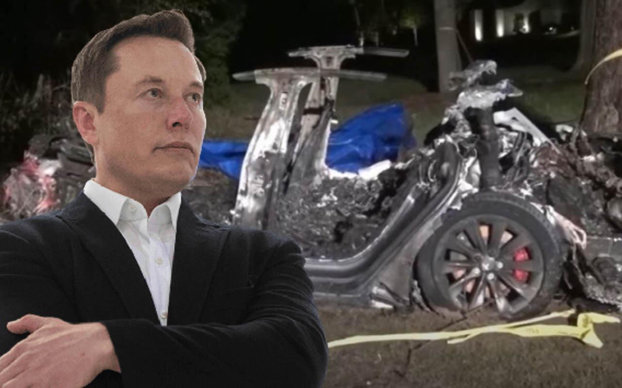 Elon Musk, ABD'de 2 kişiye mezar olan Tesla'yı savundu: Otopilot devrede değildi