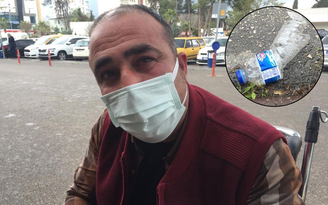 Adana'da taksiciye dehşeti yaşattı! Bıçaklayıp yüzüne tiner döktüler