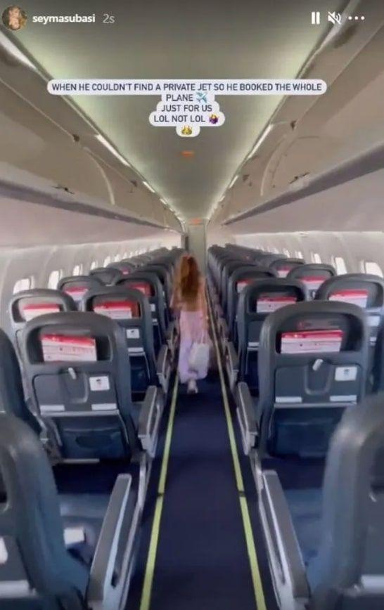 Şeyma Subaşı'nın sevgilisinin uçak kapatması tepki çekince açıklama yaptı