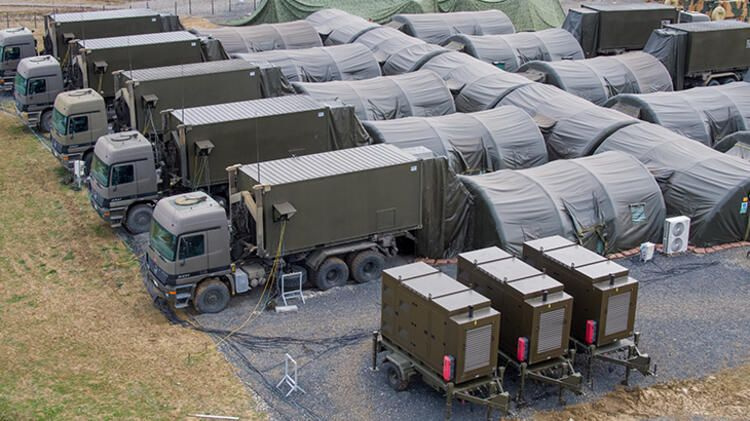 TSK'ya balistik korumalı komuta ve kontrol konteyner üs yapıldı! NATO çok beğendi