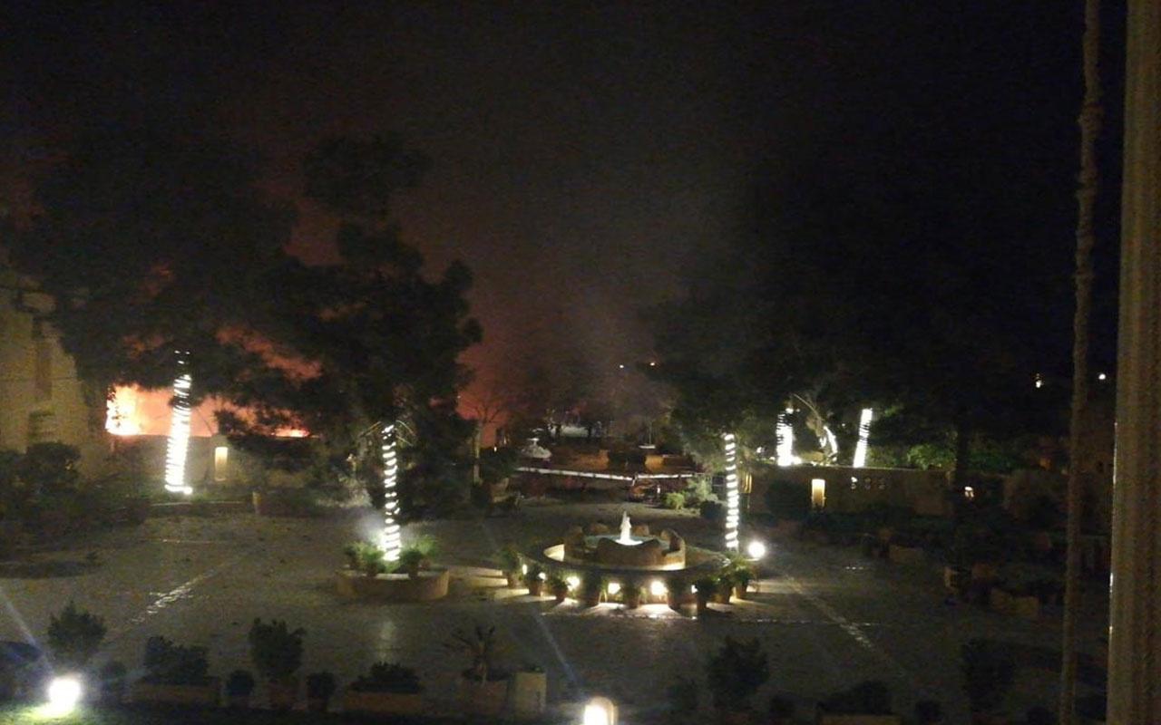 Pakistan'da bir otelin otoparkında meydana gelen patlamada 3 kişi öldü