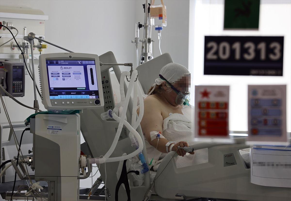 Ankara Şehir Hastanesi koronavirüs yoğun bakım ünitesi kapılarını açtı