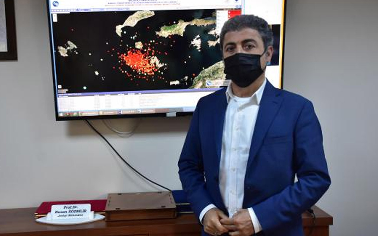 Prof. Dr. Hasan Sözbilir 'ilginç' dedi! Datça'daki depremler olası İstanbul depremini tetikler mi?