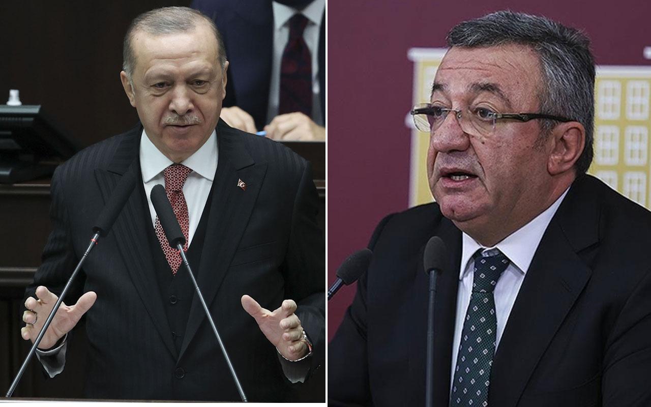 Cumhurbaşkanı Erdoğan'dan CHP'li Engin Altay hakkında suç duyurusu