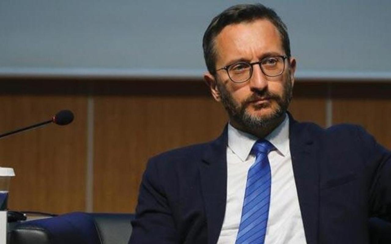 """İletişim Başkanı Altun'dan CHP'li Engin Altay'ın """"Menderes benzetmesine"""" sert tepki"""