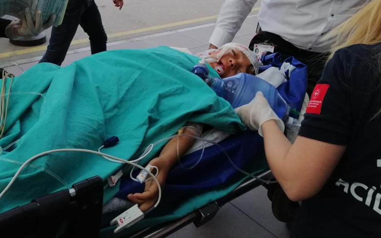 Adana'da sesi duyunca şok oldu! Kızını kanlar içinde görünce sinir krizi geçirdi