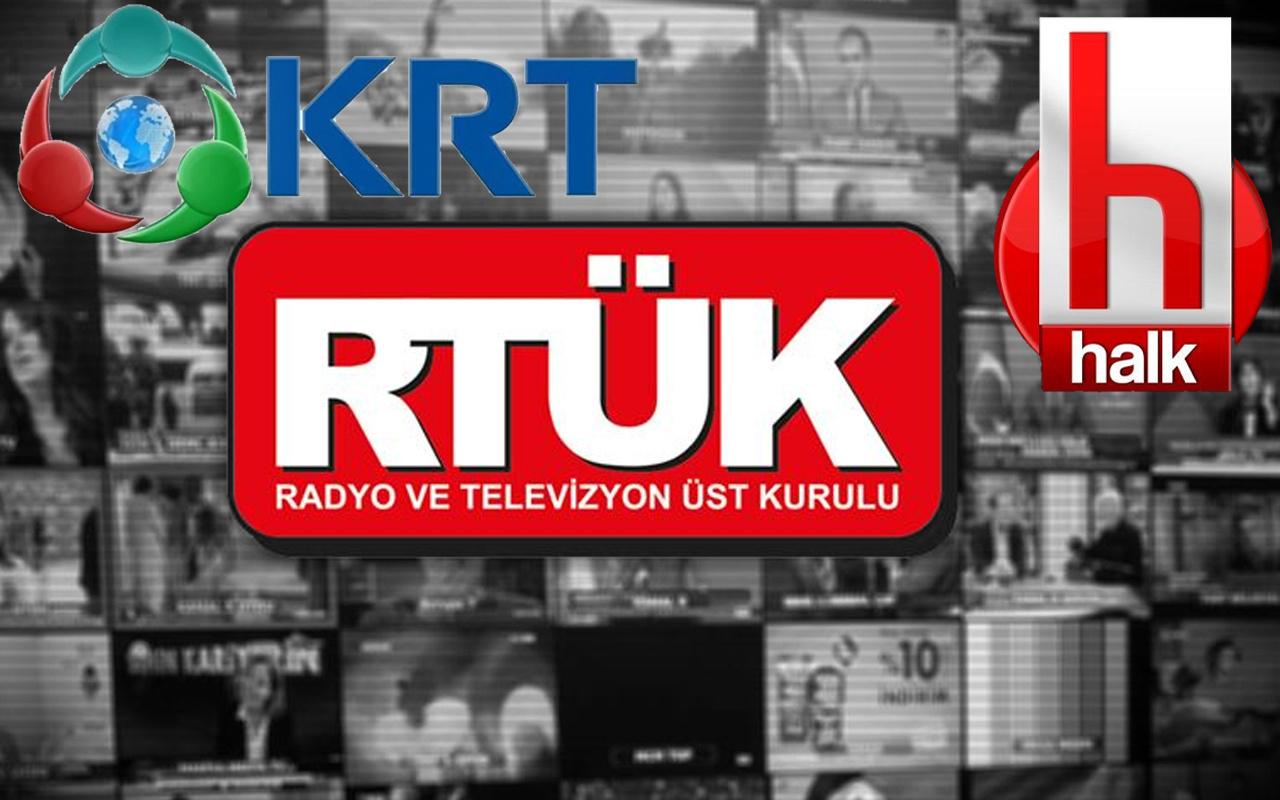 RTÜK o sözleri affetmedi! Halk TV ve KRT'ye üst sınırdan ceza verdi