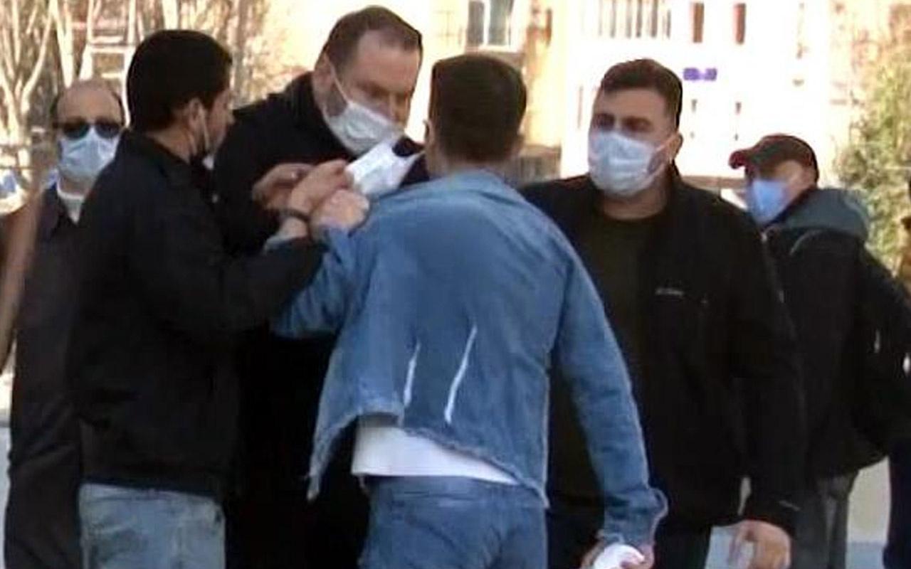 Zabıta seyyar satıcıya tokat attı! Taksim'deki olayda belediyeden zabıtaya soruşturma