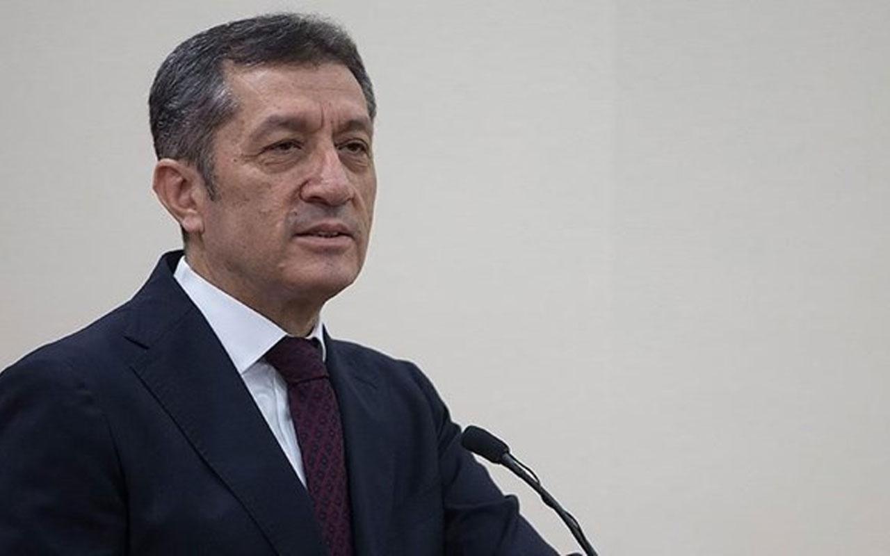 Milli Eğitim Bakanı Ziya Selçuk'tan liselilerin sınavlarıyla ilgili açıklama