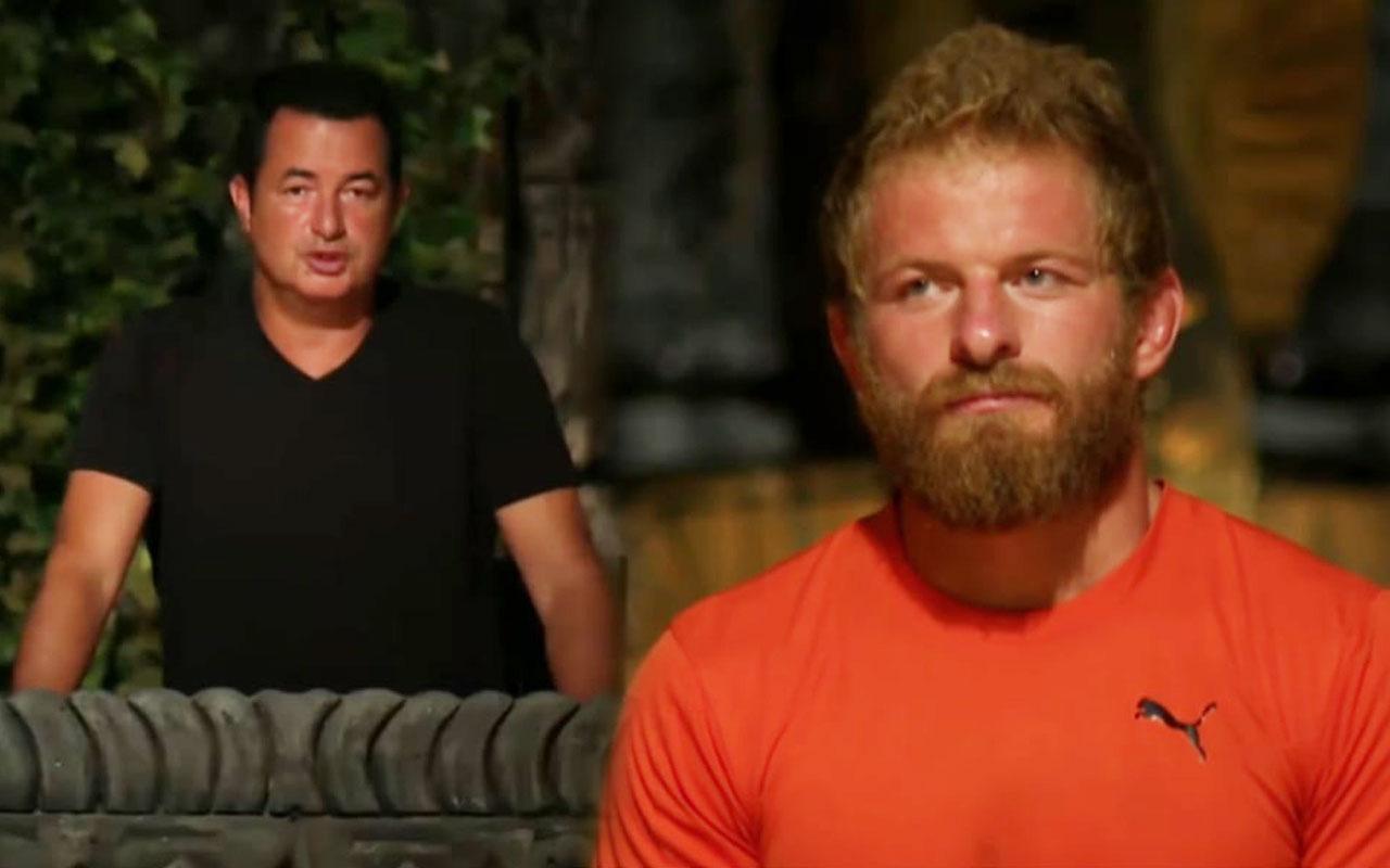 Survivor'da elenen kim oldu İsmail Balaban kameralar kayıttayken yaptı Acun affetmedi