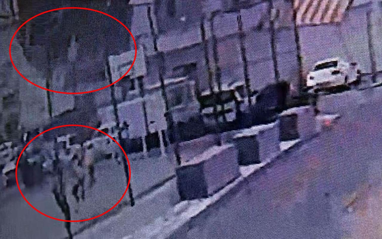 Gaziantep'te oyun oynayan çocuklar kaçışmaya başladı! Korku dolu anlar