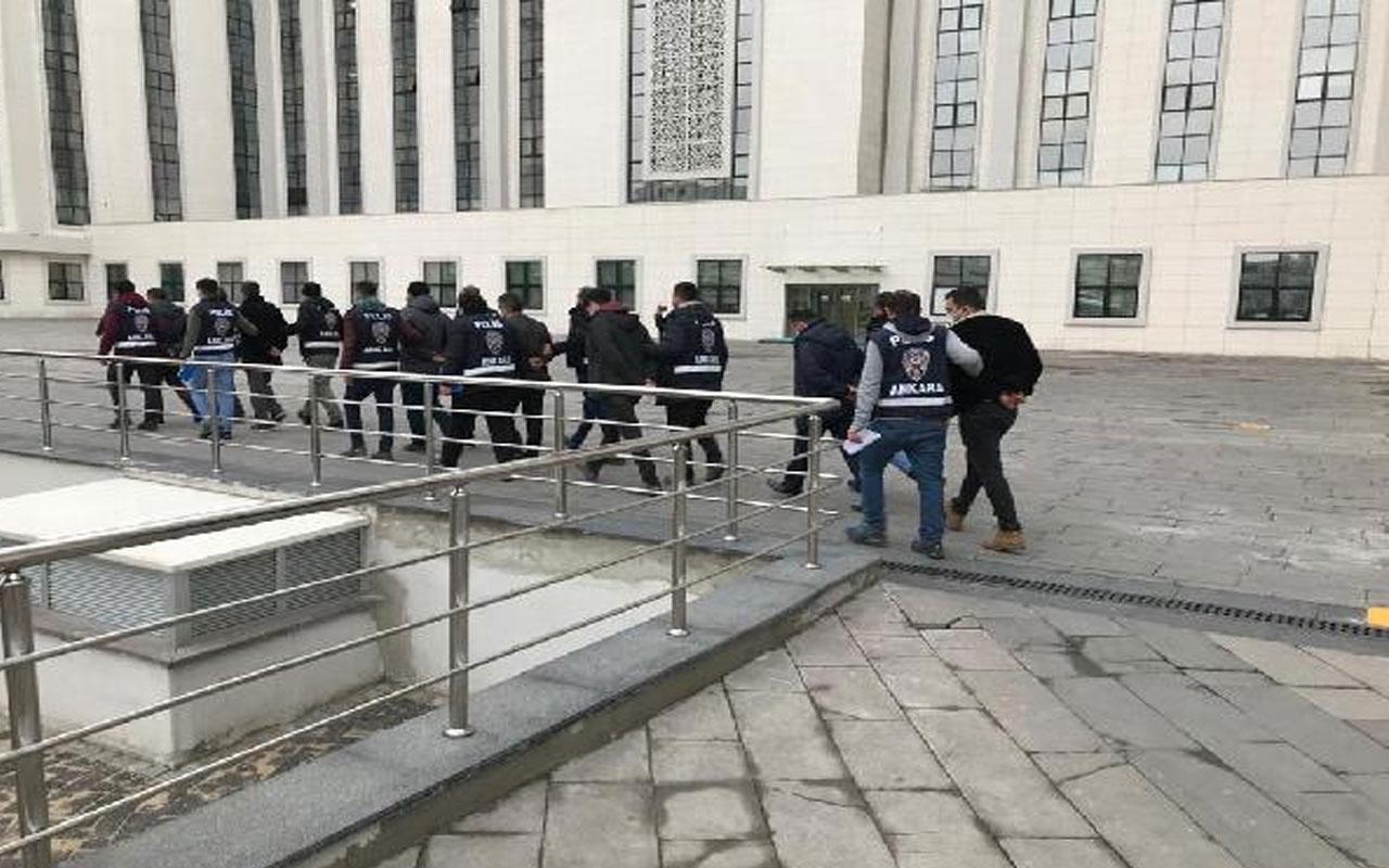 Ankara'da FETÖ'nün 'gaybubet' evlerine operasyon! 11 şüpheli gözaltına alındı