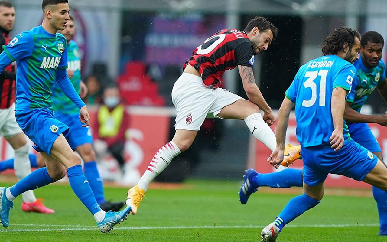 Hakan Çalhanoğlu'nun nefis golü yenilgiyi önleyemedi