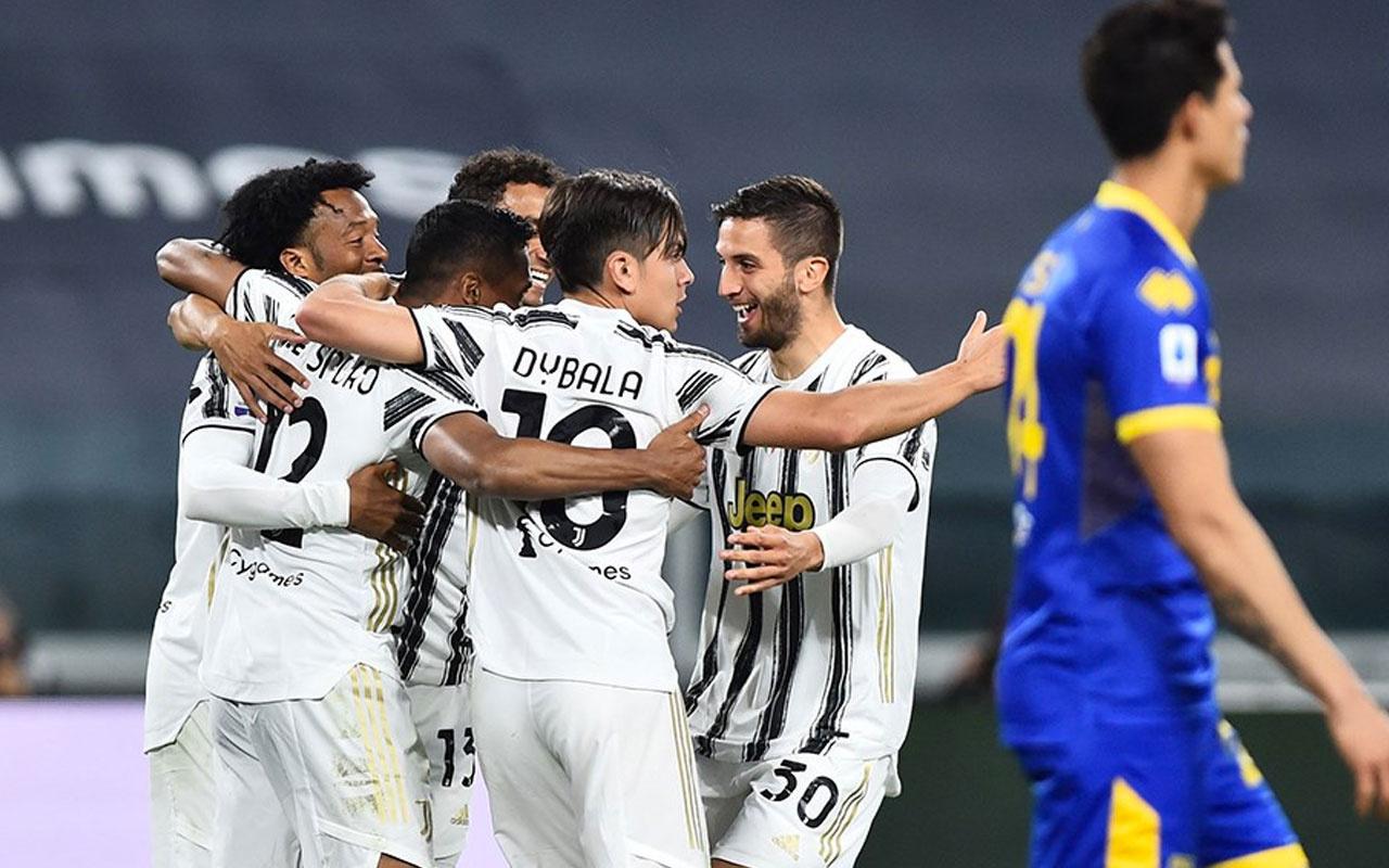 Juventus Parma'ya acımadı ilk 4 şansını güçlendirdi