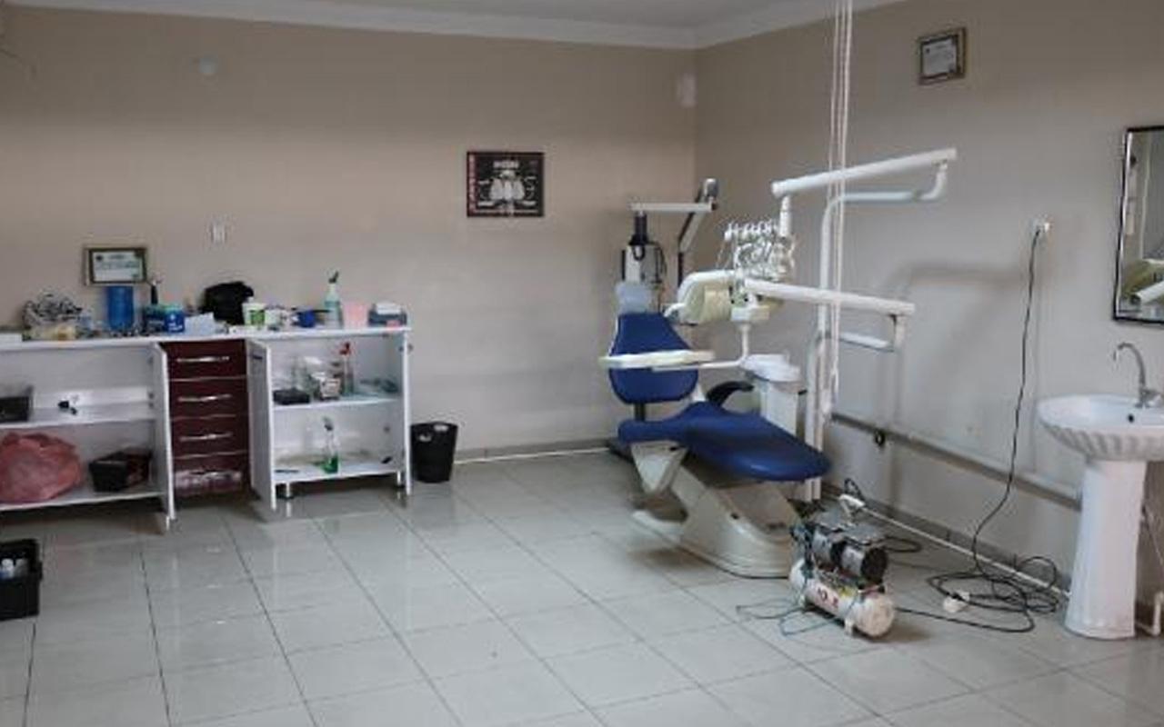 Elazığ'da sahte diş hekimi kaçak diş kliniğinde yakalandı