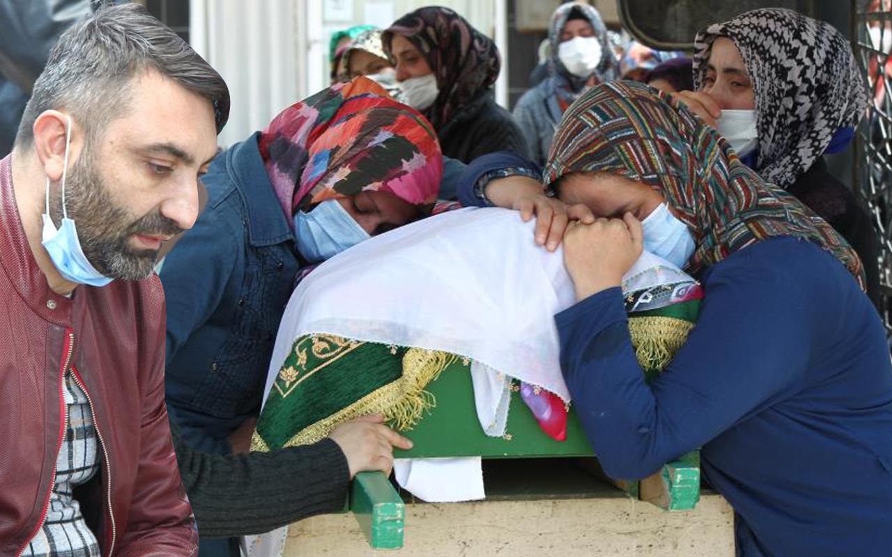 Konya'da gözyaşları sel oldu! Tabutların yanına gelen fenalık geçirdi