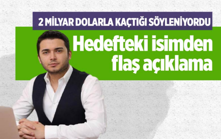 Thodex'in kurucusu Fatih Faruk Özer'den flaş açıklama: Yatırımcılarla görüşmeye gittim döneceğim