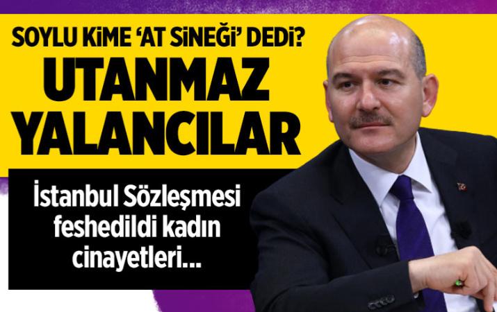 İçişleri Bakanı Süleyman Soylu: İstanbul Sözleşmesi feshedildi, kadın cinayetleri azaldı