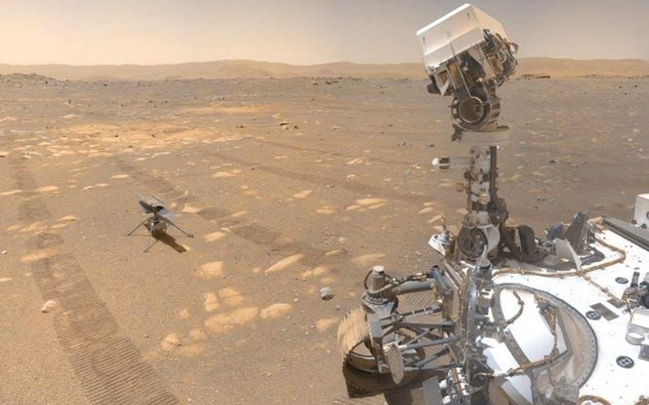 NASA'nın MOXIE aracı Mars'ta bir astronotu 10 dakika yetecek kadar 5,4 gram oksijen üretti