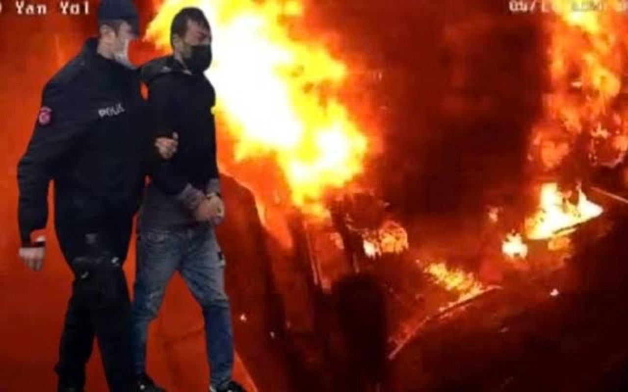 Kağıthane'yi yakan 'Neron Ümit' lakaplı kundakçı tutuklandı