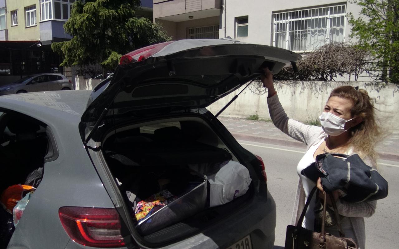 Şiddet gördüğü eski sevgilisinden tehditler alan kadın korkudan otomobilde yaşıyor