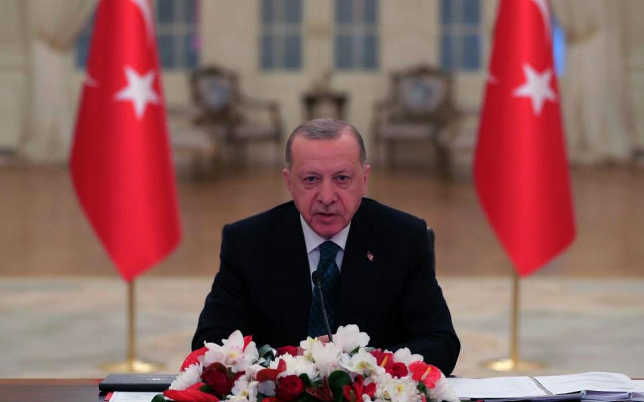 Cumhurbaşkanı Erdoğan'dan koronavirüs tedbiri uyarısı
