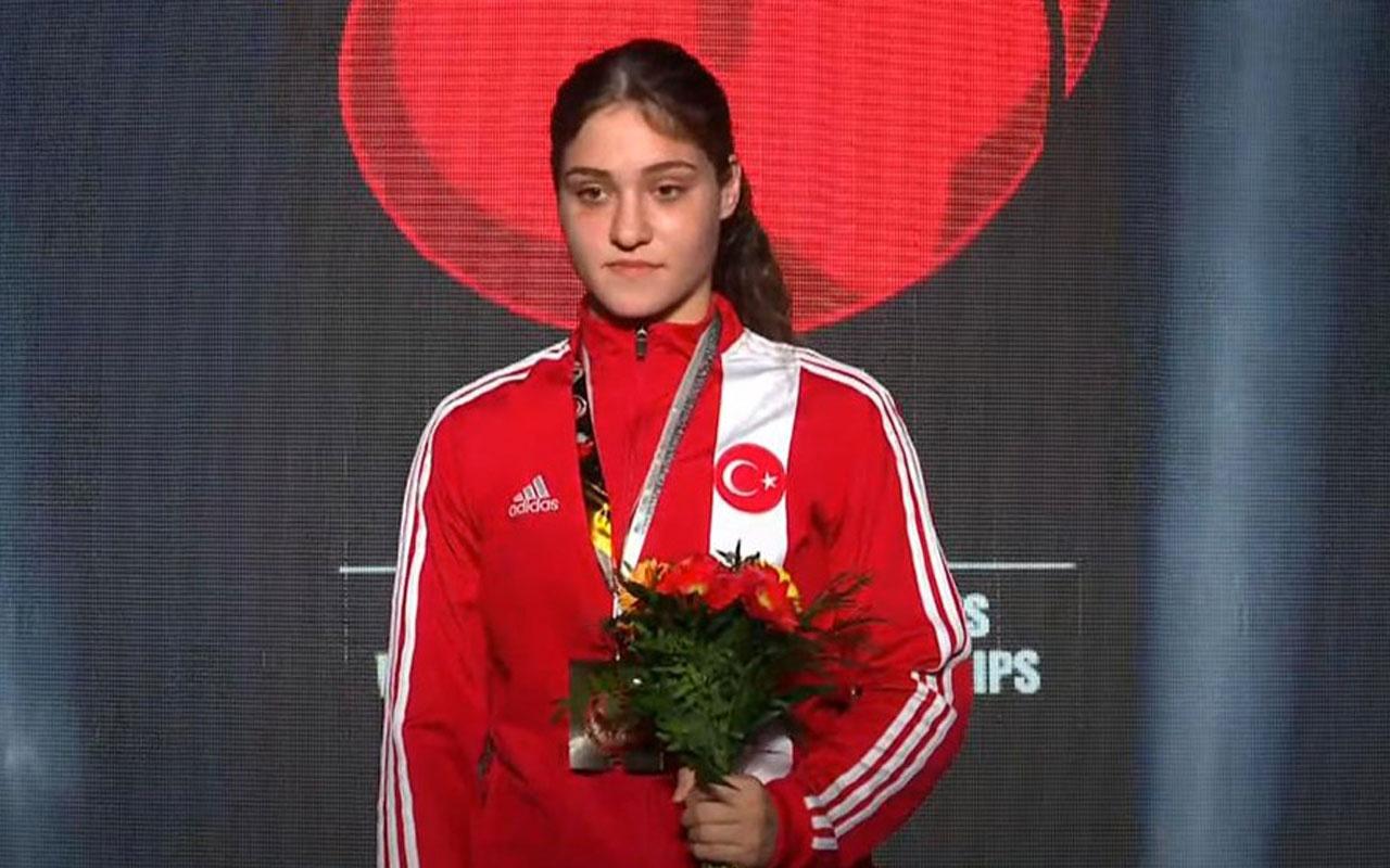 Büşra Işıldar, dünya şampiyonu göğsümüzü kabarttı