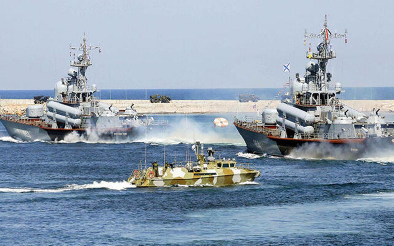 Rusya'nın Karadeniz Filosu'ndaki savaş gemileri üslerine döndü