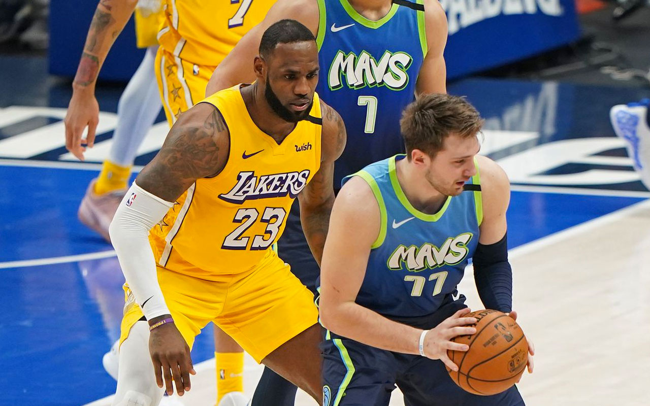 Dallas Mavericks, Lakers'ı Luka Doncic'in etkili oyunuyla yendi